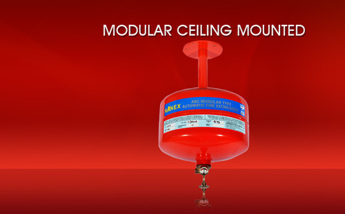 Modular Ceiling Mounted Fire Extinguisher