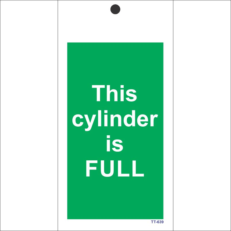 This cylinder is Full Tag (Pack of 12 Nos)