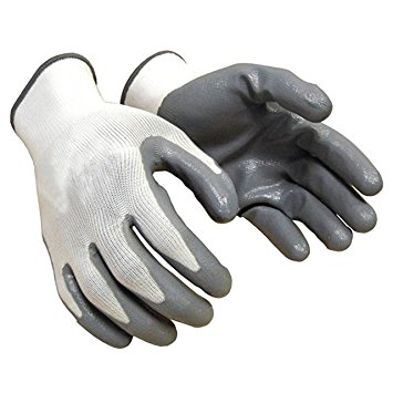 CUT RESISTANT HAND GLOVES (NITRILE COATED)