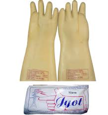 ELECTRIC SHOCK PROOF HAND GLOVES