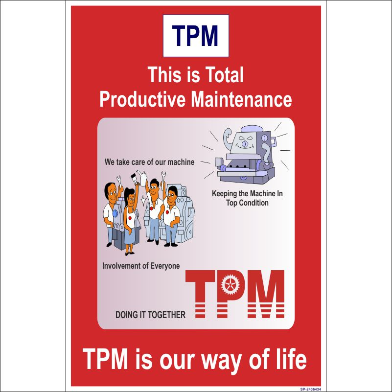 tpm is our way of life poster